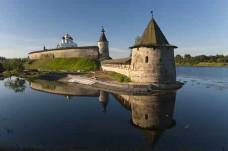 Pskov Kremlin. Russia Stock Photo