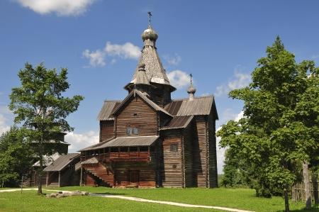 volkhov: Church of Nativity 1531  Vitoslavlitsy Veliky Novgorod Russia Stock Photo