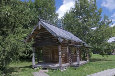 volkhov: Chapel 1698  Vitoslavlitsy Veliky Novgorod Russia