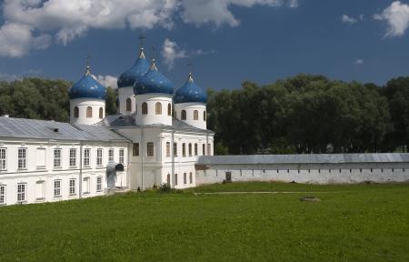 exaltation: Cross Exaltation Cathedral of Yuriev Monastery  Veliky Novgorod