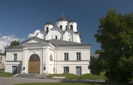 novgorod: St  Nicholas Cathedral  Veliky Novgorod Stock Photo