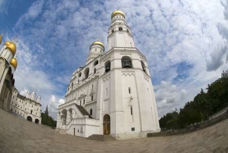 Ivan the Great Bell-Tower complex in the Moscow Kremlin. Russia.  photo