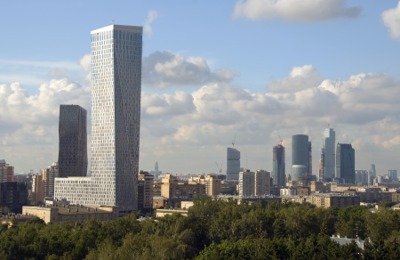 diagonals: View of Moscow