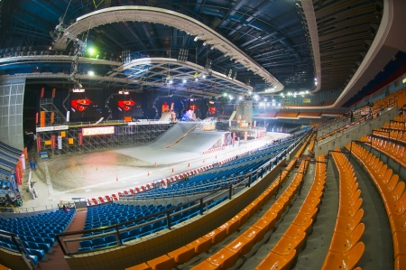 Stadium sports complex Olympic prior to the festival of extreme sports Proryv