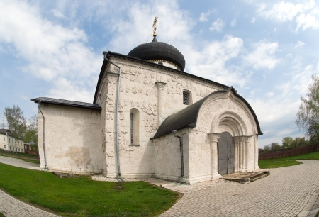 St. Georges Cathedral in Yuriev-Polsky. Russia