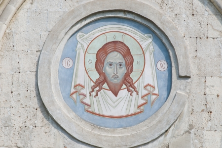 Moscow  Visage of the Savior at the Cathedral of the Saviour in the Spaso-Andronikov monastery