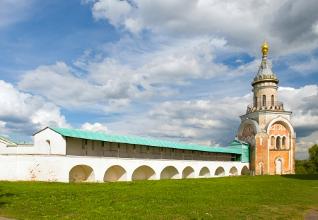 boris: Candle tower, Borisoglebsky monastery, the town of Torzhok, Tver region