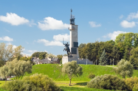 Victory Monument - a monument to commemorate the Soviet victory over fascism  Veliky Novgorod, Russia photo
