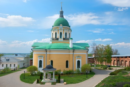 beheading: Church of the Beheading of John the Baptists head (1904), Zaraysk kremlin, Moscow region