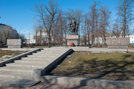 fascism: Monument to Soldiers who defend peace and freedom in the fight against fascism. Moscow, Samotechnaja Street. Established in 2006Sculptor: Kozlov; Architects: I. Bilinkin, M. Corsi. ????????? ????? ??????, ??????????? ???? ???????? ? ?????? ????? Editorial