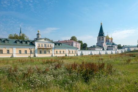 narrowing: The Valdai Iver Svyatoozersky Virgin Monastery.