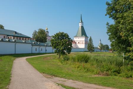 narrowing: The Valdai Iver Svyatoozersky Virgin Monastery.  (typographic) TOWER 2 POL. XVII