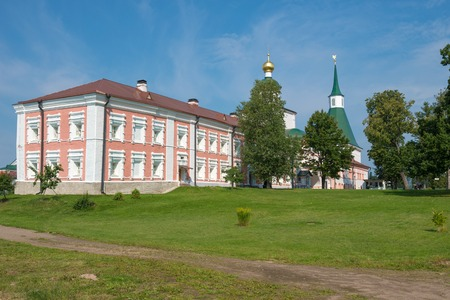 fraternal: The Valdai Iver Svyatoozersky Virgin Monastery. HOUSING fraternal cells XVII-XVIII