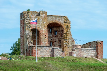 novgorod: Archaeological Site Rurikovo mound. Veliky Novgorod