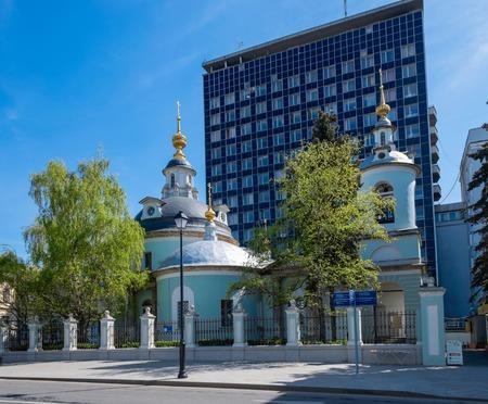 Temple of holy unselfish Cosmas and Damian, Maroseyka Street, Moscow