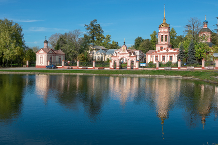 exaltation: Altufyevo Manor and Church of the Exaltation of the Holy Cross. Altufyevo, Moscow