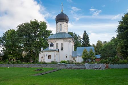 panteleimon: The temple in honor of the Great Martyr. Panteleimon (1915-1917) in the Manor Vassilyevskoe (Marino), Moscow region Stock Photo