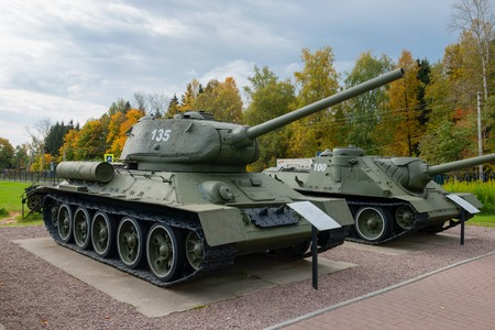 t34: The Soviet tank T-34 of times of the Second World War