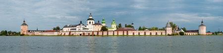Panoramic view of St. Cyril-Belozersky Monastery. Vologda Region. Kirillov city. Russia