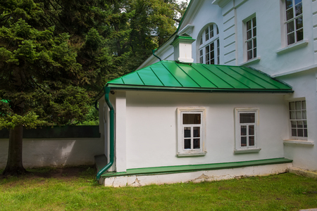 House of Leo Tolstoy in the estate of Count Leo Tolstoy in Yasnaya Polyana in September 2017. Editorial