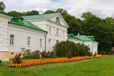 The Volkonsky House is the oldest building in the county of Leo Tolstoy in Yasnaya Polyana in September 2017.