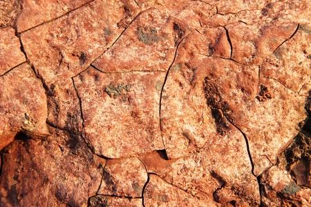 Red stones, rocks sunset light terikon october Stock Photo - 15623548