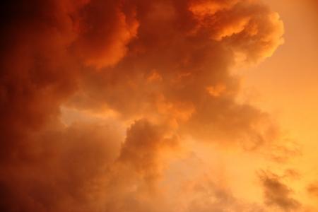 Sky background on sunrise  Nature composition  october