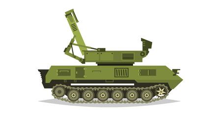 레이다 총. 방송, 위성 통신. 안테나, 수신기, 본사와의 커뮤니케이션. 적의 위치 결정. 특수 군사 장비. 모든 지형 차량, 대형 차량