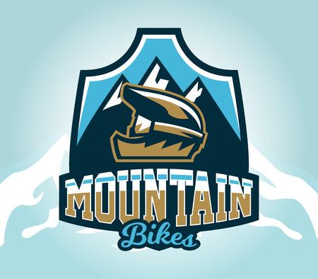 Rider icon image design Illustration