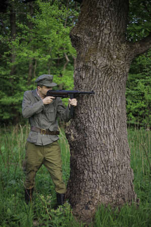 soldier, war game, based on the events of the liberation struggle of World War II