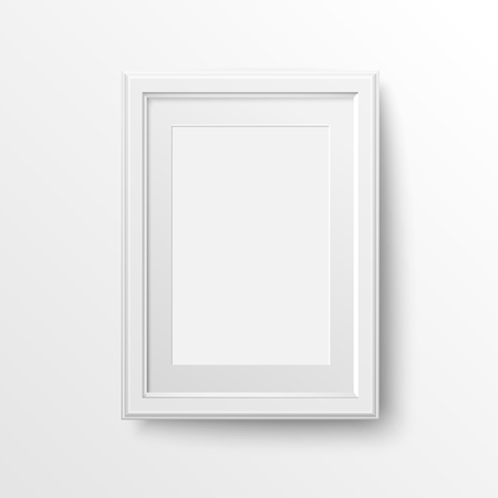 A3 And A4 Vertical Blank Picture Frame With Passepartout For ...