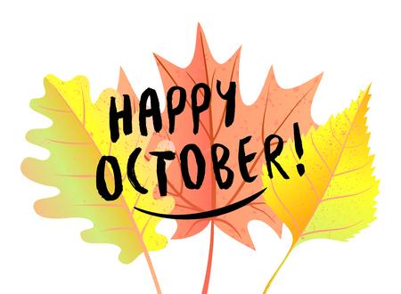 Autumn vector illustration Ilustrace