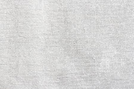 Coarse white fabric background