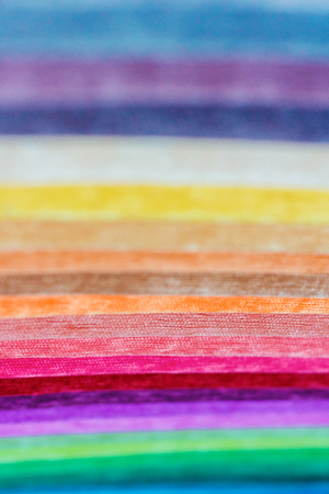 Samples of colored cloth background texture