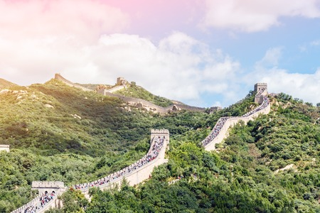 The Great Wall of China 写真素材