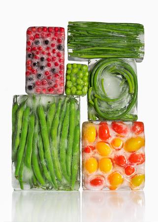 frozen vegetables 版權商用圖片 - 46640432