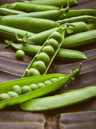 pea: green pea Stock Photo