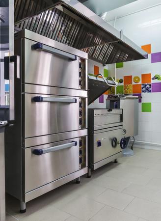 cocinas industriales: equipo de cocina Foto de archivo