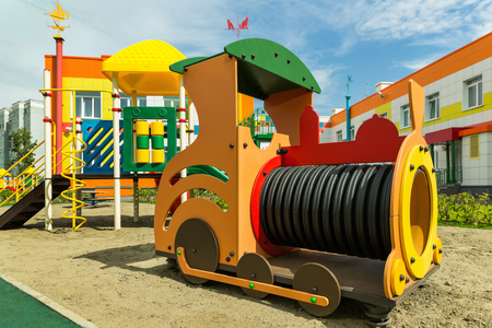 Train on the Playground for children