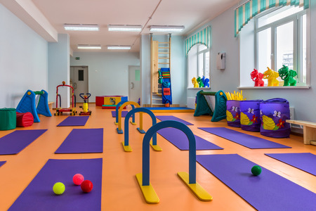 gym for children 版權商用圖片