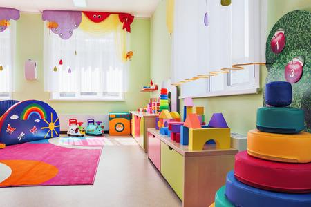 kindergarten toys: Childrens games room