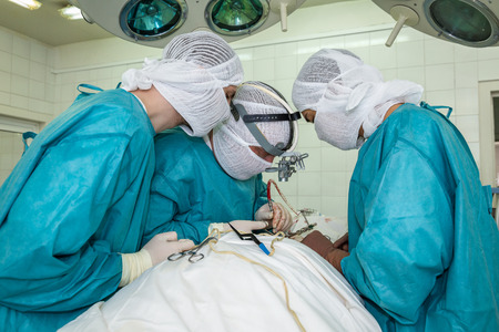 surgical operation: surgical operation