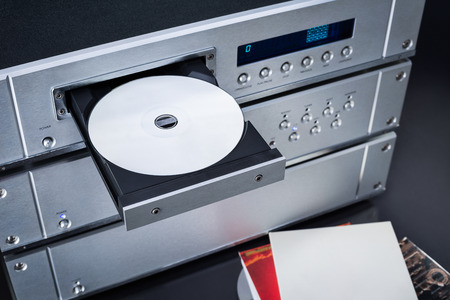 sound system: Inserting CD in the player