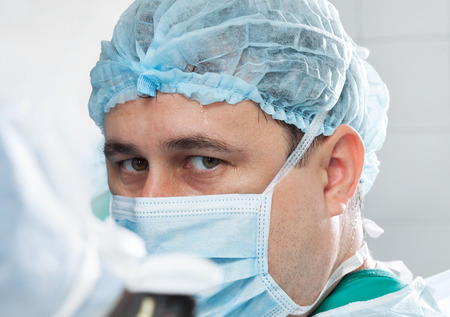 medical occupation: operating surgeon