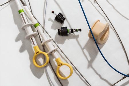 endoscopic: Endoscopy. Diagnostic equipment. Stock Photo