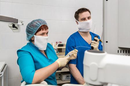 Medical diagnostics room