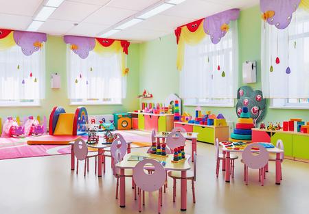 Kindergarten, game room Standard-Bild