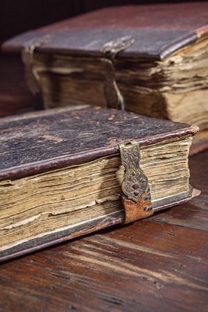 ancient books: Two ancient books