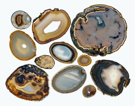 Agate (chalcedony, quartz)