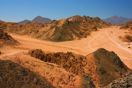 sinai desert: Sinai desert view